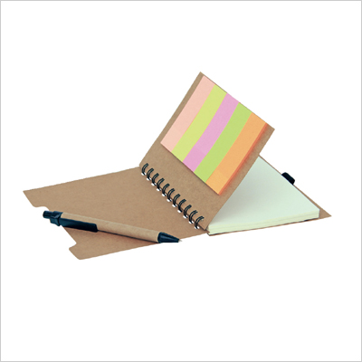 NB 1232 - Eco Note Pad with Pen