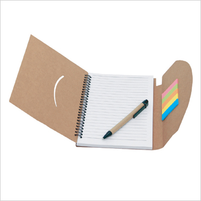 NB 2228 - Eco Notepad with Restick Notepad