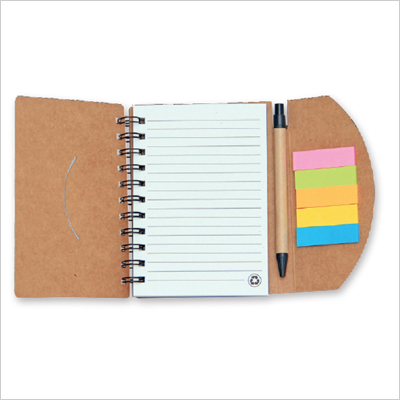 NB 1228 - Eco Note Pad with Pen