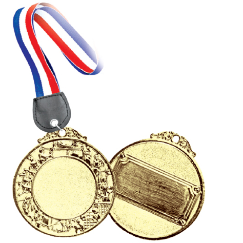 MD 919 - Metal Hanging Medal