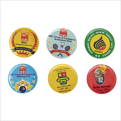 Button Badges (Make to Order) - Button Badges (Make to Order)