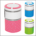 LB 2060 - Container Lunch Box (Double Deck)