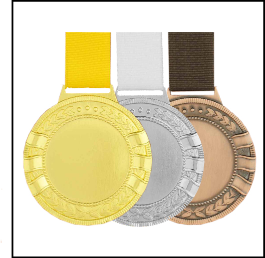 35044 - Metal Hanging Medal