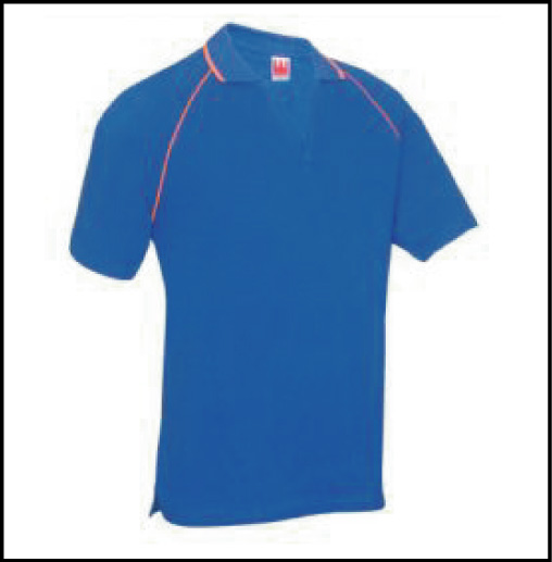 PT 0608 Royal Blue - Polo Tee