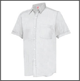 CU0700 White - Corporate Uniform