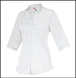CU5700 White - Corporate Uniform