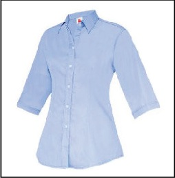 CU5710 Light Blue - Corporate Uniform