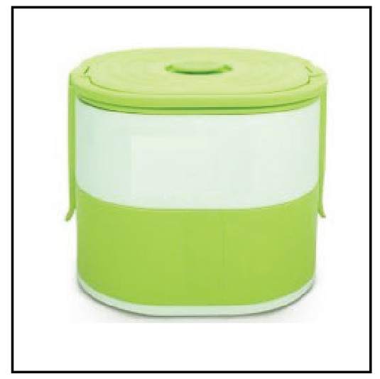 LB 210 - 2 Layer Lunch box